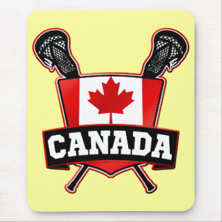 Canada Lacrosse Logo Mousepad Mousemat