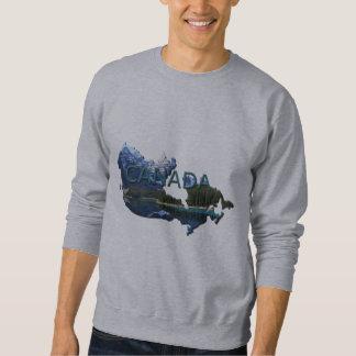 Canada Landscape Map Sweatshirt