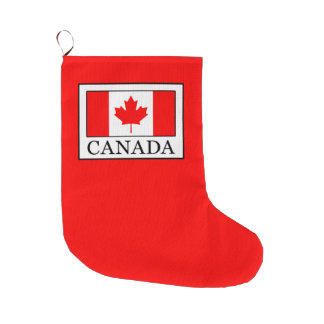 Canada Large Christmas Stocking
