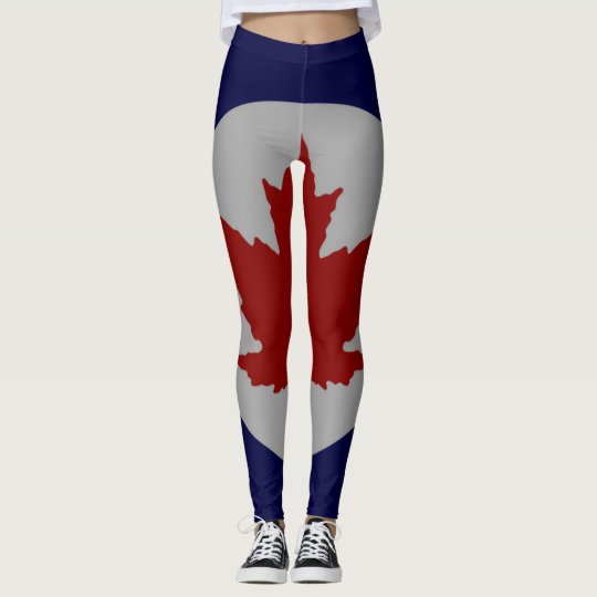 Canada Leaf Roundel Running Leggings