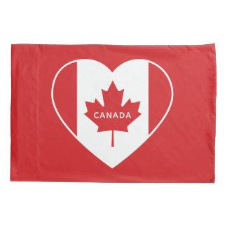 Canada Love custom text pillowcases