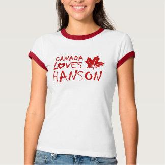 Canada Loves Hanson (Alberta) T-Shirt