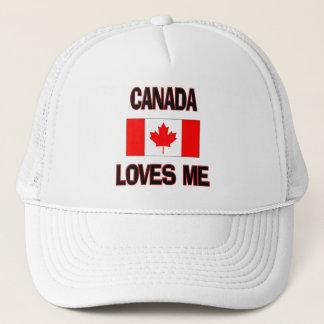 Canada Loves Me Trucker Hat