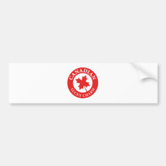 Canada Lucky Charm Luck ED. Series Bumper Sticker