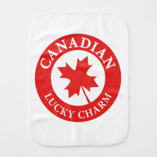 Canada Lucky Charm Luck ED. Series Burp Cloth