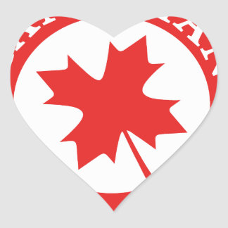 Canada Lucky Charm Luck ED. Series Heart Sticker