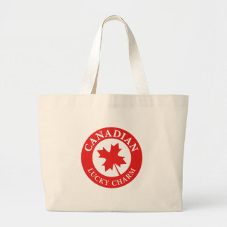 Canada Lucky Charm Luck ED. Series Large Tote Bag