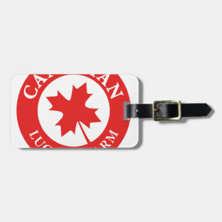 Canada Lucky Charm Luck ED. Series Luggage Tag