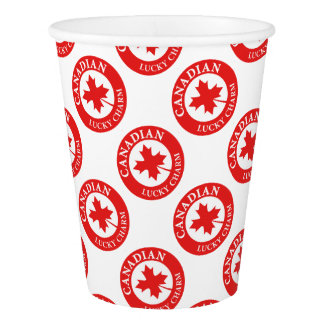 Canada Lucky Charm Luck ED. Series Paper Cup