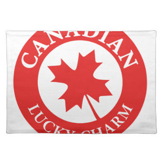 Canada Lucky Charm Luck ED. Series Placemat