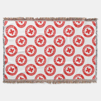 Canada Lucky Charm Luck ED. Series Throw Blanket