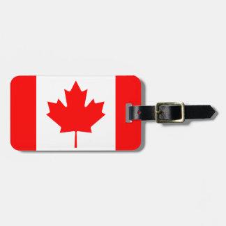 Canada Luggage Tag