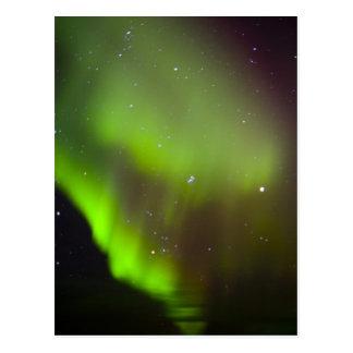 Canada, Manitoba, Churchill. Aurora Borealis in Postcard