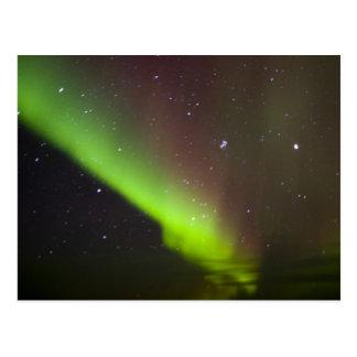 Canada, Manitoba, Churchill. Aurora Borealis Postcard