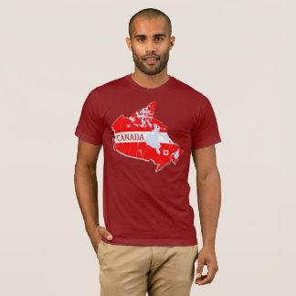 Canada Map Designer Shirt Apparel Sale; Man  Lady