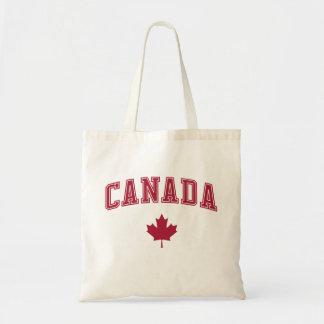 Canada + Maple Leaf Tote Bags