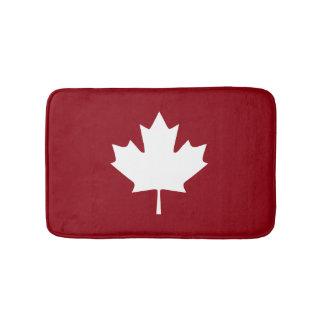 Canada Maple Leaf Bath Mat