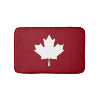 Canada Maple Leaf Bath Mat Bath Mats