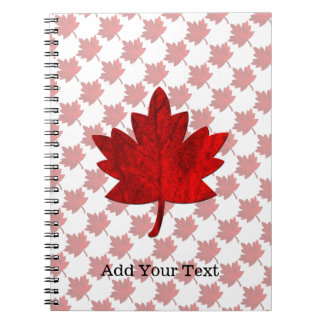 Canada-Maple Leaf by Shirley Taylor Notebook