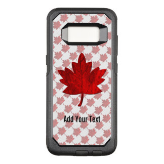 Canada-Maple Leaf by Shirley Taylor OtterBox Commuter Samsung Galaxy S8 Case