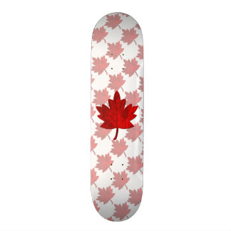 Canada-Maple Leaf by Shirley Taylor Skateboard Decks