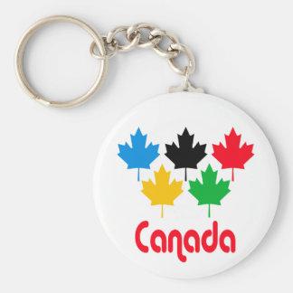 Canada Maple Leaf Key Ring