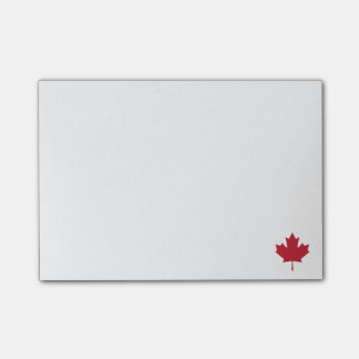 Canada Maple Leaf Post-it Notes
