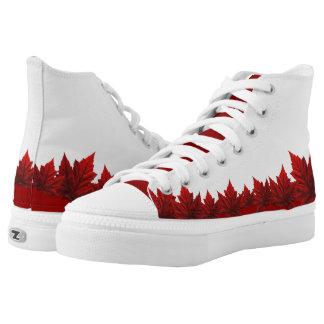 Canada Maple Leaf Sneakers Canada Hightop Runners