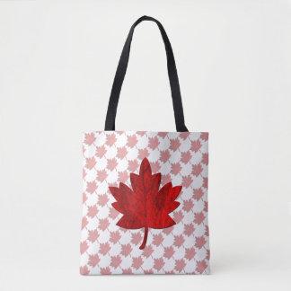 Canada-Maple Leaf Tote Bag