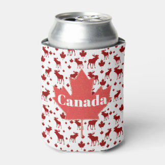Canada Moose and Maple Leaf Beer Cooler