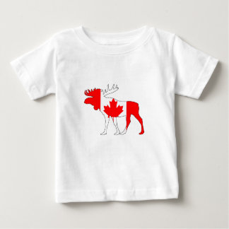 Canada Moose Baby T-Shirt