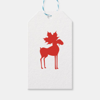 CANADA MOOSE GIFT TAGS