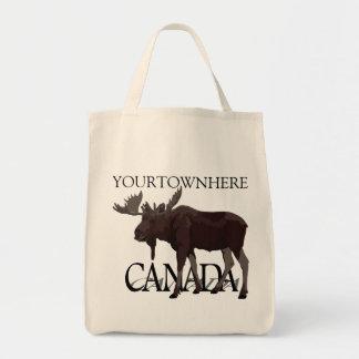 Canada Moose Tote Bag Custom Canada Bags