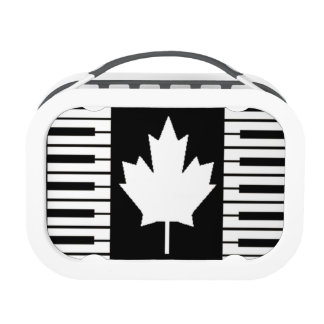 Canada Music Notes Lunch Boxes