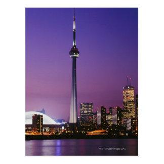 Canada National Tower Toronto Canada Post Card