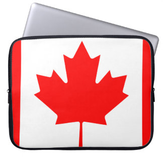 Canada National World Flag Laptop Sleeve