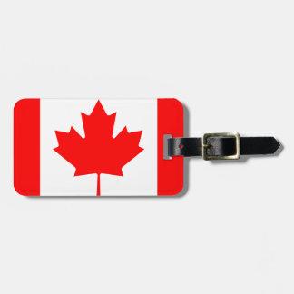 Canada National World Flag Luggage Tag