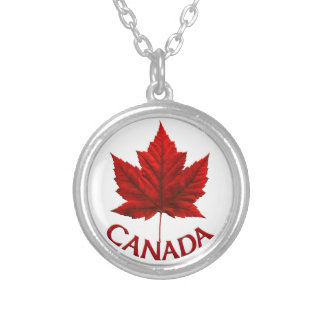 Canada Necklace Canada Maple Leaf Souvenir Necklac