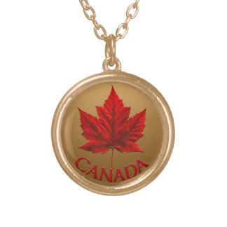 Canada Necklace Canada Maple Leaf Souvenir Necklac