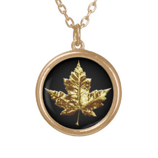 Canada Necklace Gold Medal Canada Necklace Jewelry