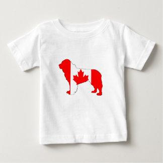 Canada Newfoundland Dog Baby T-Shirt