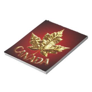 Canada Notepad Gold Medal Canada Souvenir Notepad