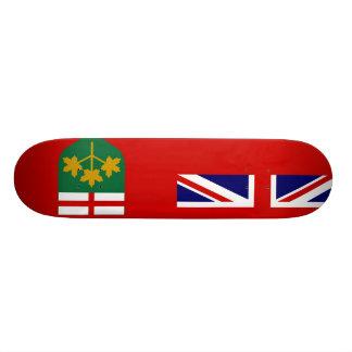 Canada Ontario Flag Skateboard Decks