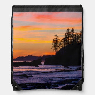 Canada, Pacific Rim National Park Reserve, West Drawstring Bags