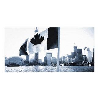 Canada Custom Photo Card