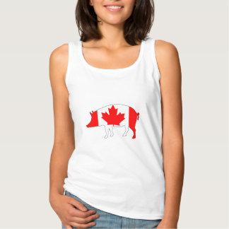 Canada Pig Singlet