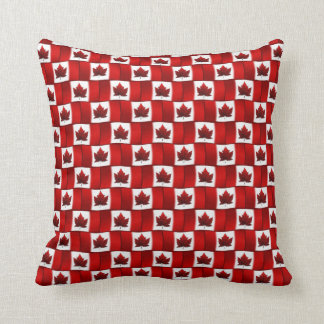 Canada Pillow Personalized Canadian Flag Pillow