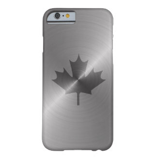 Canada Platinum Maple Leaf Barely There iPhone 6 Case