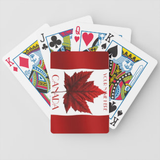 Canada Playing Cards Canada Flag Souvenir Cards