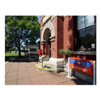 Canada Post Office Outlet Postcard